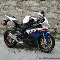 【二手宝马跑车】2010年2月德国宝马最新变款怪异超级跑车白蓝花S1000RR