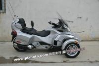 10年庞巴迪RT SM5银色 庞巴迪三轮摩托车 霹雳车行2012.12 现货