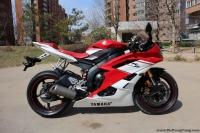 出售2007款雅马哈YZF-R6红白少有的红坐