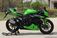 2009款川崎綠色忍者ZX-6R  綠色 成色新
