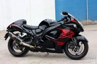 新到11款 铃木GSX1300R 隼 欧版原漆 改装吉村排气及脚踏 两套配件