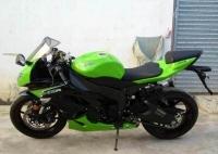 新到2012款綠色川崎ZX-6R,原版原漆,成色佳