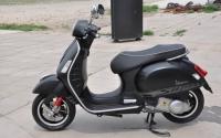 2013款全新VESPA 300GTS SUPER SPORT 黑色