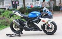 2012年铃木GSX-750R 蓝白色 铃木小R
