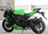 新到2012款川崎忍者Ninja  ZX-6R 黑绿色