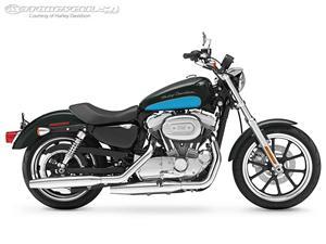哈雷戴维森Sportster Superlow摩托车
