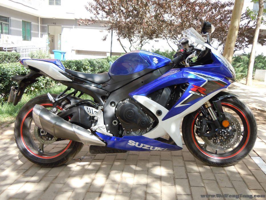 铃木gsx-r750摩托车二手转让