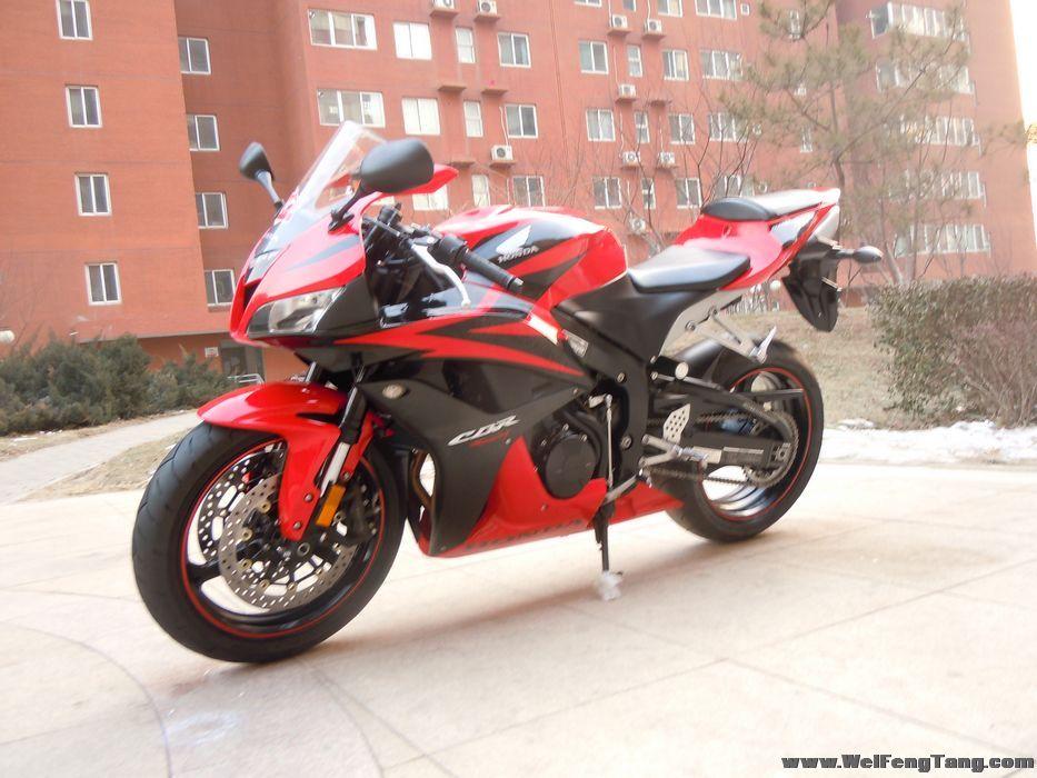 f5摩托车多少钱_【图】2007本田变款CBR600,红黑色_机车网