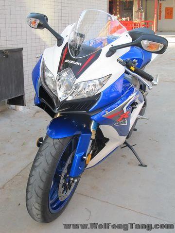 2008款 铃木GSX-R600 小R K8 蓝白色 GSX-R600图片 3
