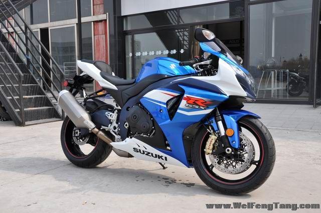 准新车2012年铃木大R GSX-R1000到货 蓝白色 图片 0