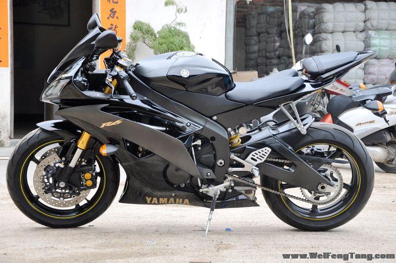 完美到货 2008雅马哈 美版YZF-R6 五万余元 图片 2