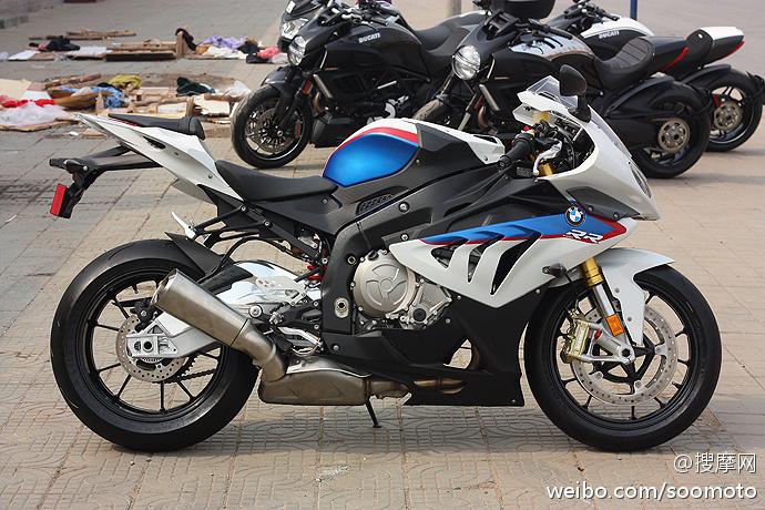 【图】新到2012款 全新宝马s1000rr跑车 红蓝白三色花