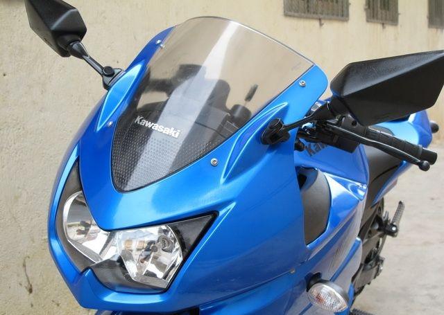新到2010款川崎忍者250少有的蓝色 百分百原装,不到四千公里 Ninja 250R图片 3