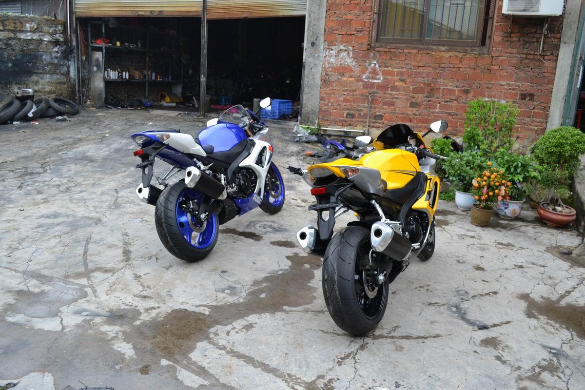 2007款铃木GSX1000 铃木大R K7 黄色 带银边不到七千公里 GSX-R1000图片 2