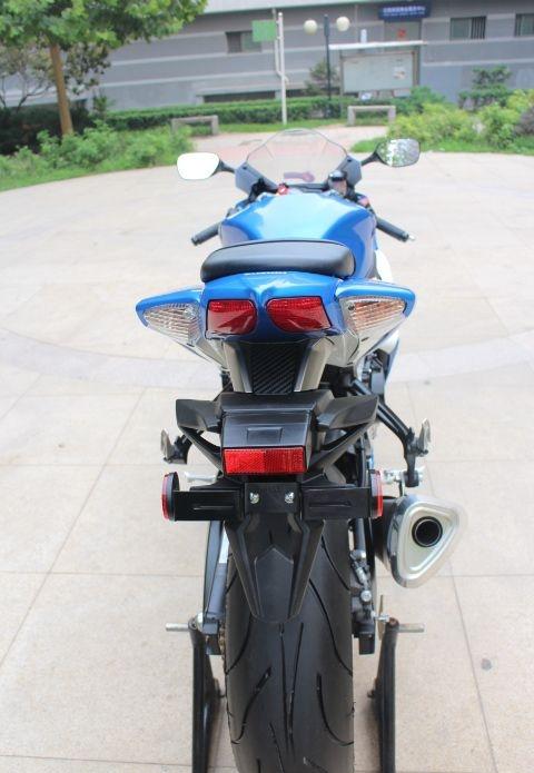 2008年铃木GSX-600R莲花灯 铃木小R 蓝白色 GSX-R600图片 2