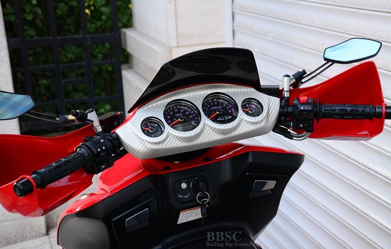 2008款铃木 GEMMA-250――伽马 红色 图片 3