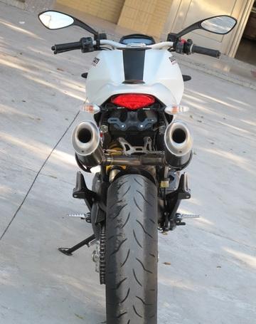 新到2012年款杜卡迪怪兽 MONSTER 796 ABS版 红白黑三色 Monster 796图片 1