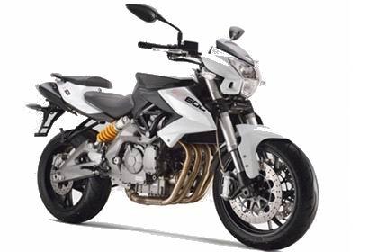 贝纳利欧版黄龙BN600i摩托车