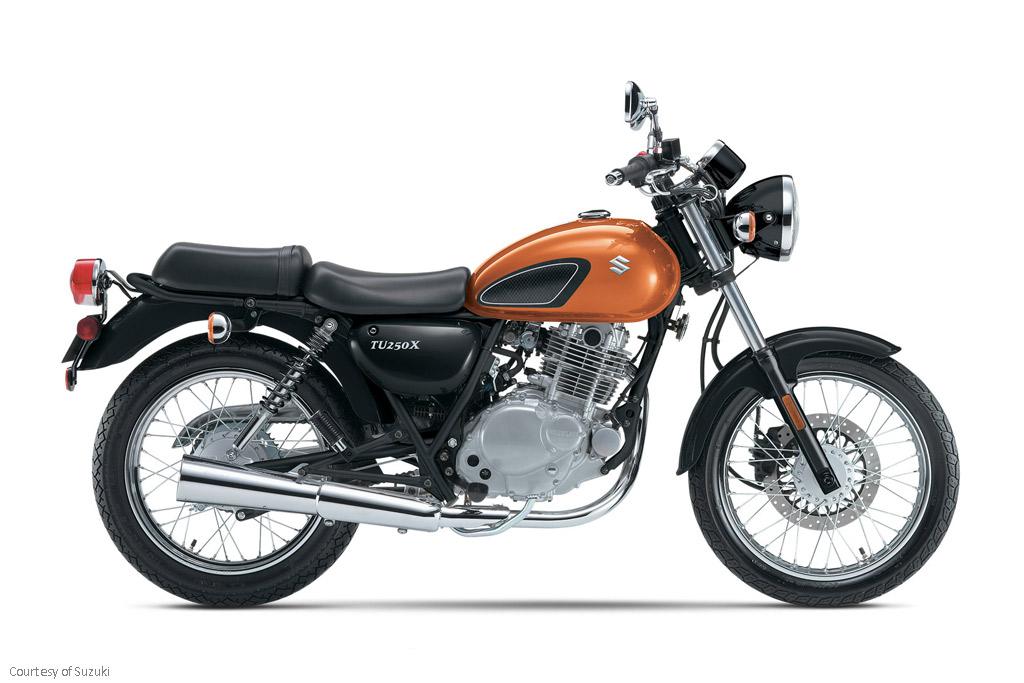 铃木TU250X摩托车