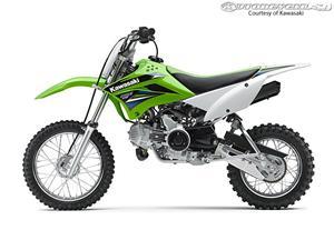 2014款川崎KLX110L摩托车