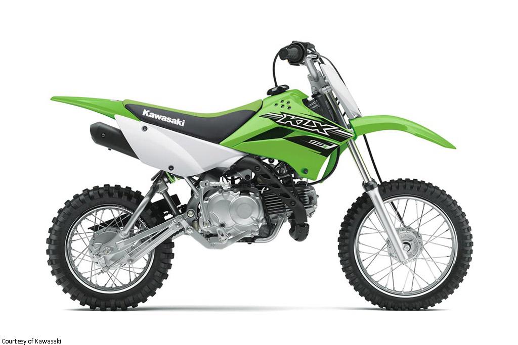 川崎KLX110L摩托车
