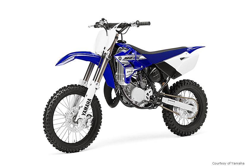 雅马哈YZ85摩托车