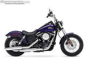 2014款哈雷戴维森Dyna Street Bob - FXDB摩托车