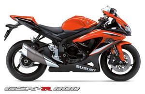 2009款铃木GSX-R600