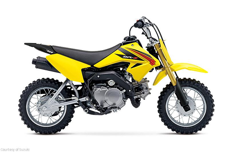 铃木DR-Z70摩托车