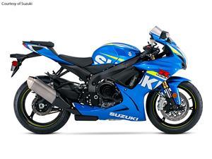 铃木GSX-R750摩托车