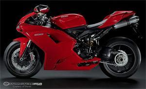 2010款杜卡迪1198摩托车