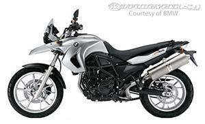 2011款宝马F650GS摩托车