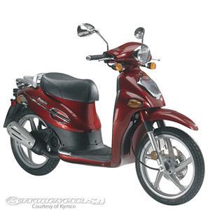 光阳People 50摩托车
